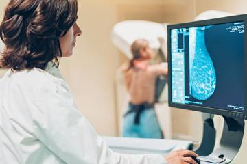 A mammogram during the COVID-19 pandemic